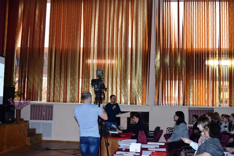 Выступление представителя Министерства финансов КК